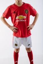 Детская футбольная форма ФК Манчестер Юнайтед 19-20 домашняя