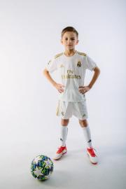 Детская футбольная форма Реал Мадрид 19-20 домашняя