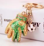 Брелок Золотая перчатка 1/футбольный брелок