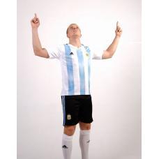 сборная Аргентина футбольная форма домашняя комплект/майка и шорты