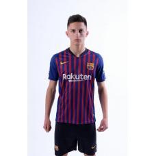 Барселона футбольная домашняя форма комплект 2018/2019/майка и шорты