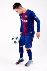 Barcelona  2017/2018 LS Home Kits/форма домашняя длинный рукав