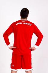 Bayern Munchen 2017/2018 Home LS Kits/форма домашняя длинный рукав