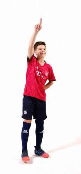 Бавария Мюнхен домашняя детская футбольная форма комплект 2018/2019/майка и шорты