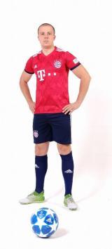 Бавария Мюнхен футбольная форма домашняя комплект 2018/2019/майка и шорты