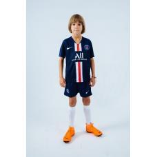 Детская футбольная форма ПСЖ 19-20 домашняя