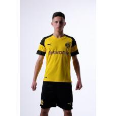 Боруссия Дортмунд футбольная домашняя форма комплект 2018/2019/майка и шорты