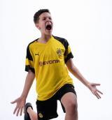 Боруссия Дортмунд домашняя детская футбольная форма комплект 2018/2019/майка и шорты