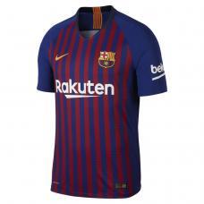 Футболка Найк игровая футбольного клуба Барселона 18-19 домашняя