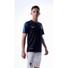сборная Франции футбольная форма домашняя комплект/майка и шорты