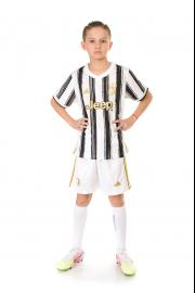 Детская футбольная форма Ювентус сезон 20-21 домашняя