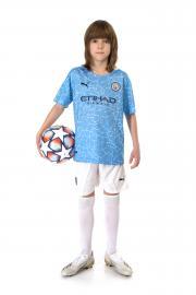 Детская футбольная форма Манчестер Сити сезон 20-21 домашняя