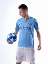 Манчестер Сити футбольная домашняя форма комплект 2018/2019/майка и шорты