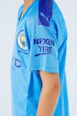 Детская футбольная форма Манчестер Сити 19-20 домашняя