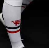 Manchester United Football Sock White/футбольные гетры белые