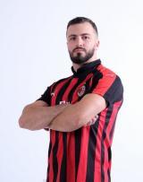 Милан футбольная домашняя форма комплект 2018/2019/майка и шорты