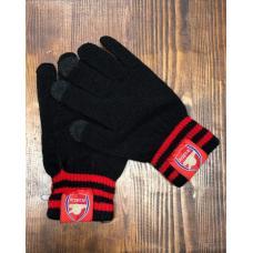 Перчатки вязанные футбольного клуба Арсенал