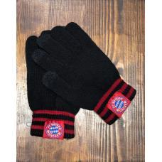 Перчатки вязанные футбольного клуба Бавария Мюнхен