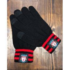 Перчатки вязанные футбольного клуба Ливерпуль