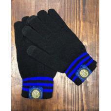 Перчатки вязанные футбольного клуба Интер