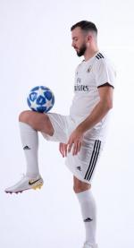 Реал Мадрид футбольная домашняя форма комплект 2018/2019/майка и шорты