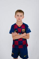 Детская футбольная форма Барселона 19-20 домашняя