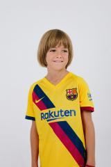 Детская футбольная форма Барселона 19-20 гостевая