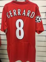 Reebok Liverpool Gerrard UCL Final Instanbul 2005 Retro