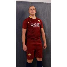 Рома футбольная форма домашняя комплект 2018/2019майка и шорты