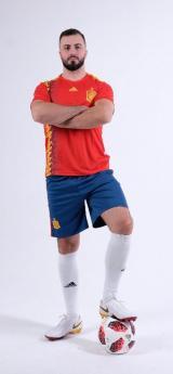 сборная Испании футбольная форма домашняя комплект/майка и шорты