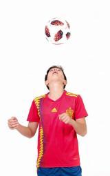 сборная Испании домашняя детская футбольная форма комплект/майка и шорты