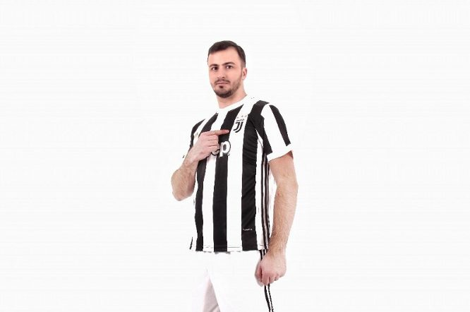 Juventus 2017/2018 Home Kits/форма домашняя