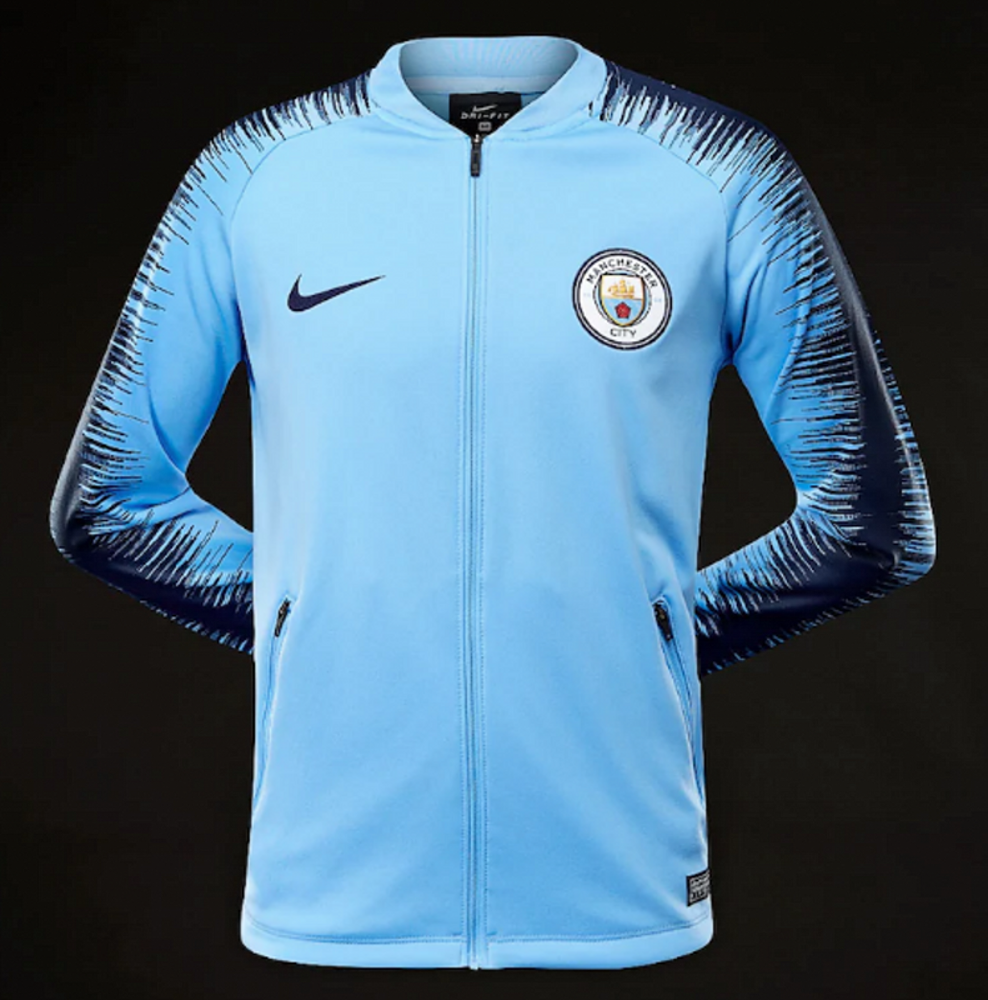 Manchetser City 2018/2019 Anthem Jacket/олимйпийка