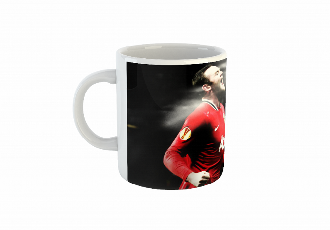 Manchester United Football Mug Rooney/кружка
