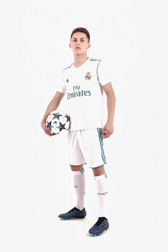 Real Madrid 2017/2018 Home Kits/форма домашняя