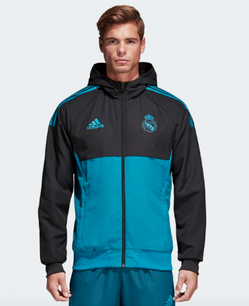 Adidas Real Madrid UCL Prematch 2017/2018 Jacket/куртка
