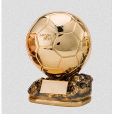 Золотой мяч/футбольная награда 25 см