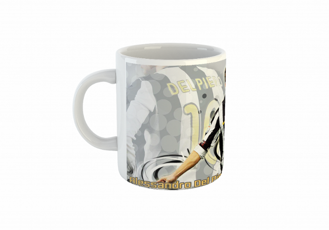 Juventus Football Mug Del Piero/кружка
