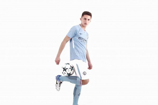 Manchester City 2017/2018 Home Kits/форма домашняя