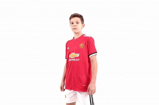 Manchester United 2017/2018 Home Junior Kits/форма домашняя детская