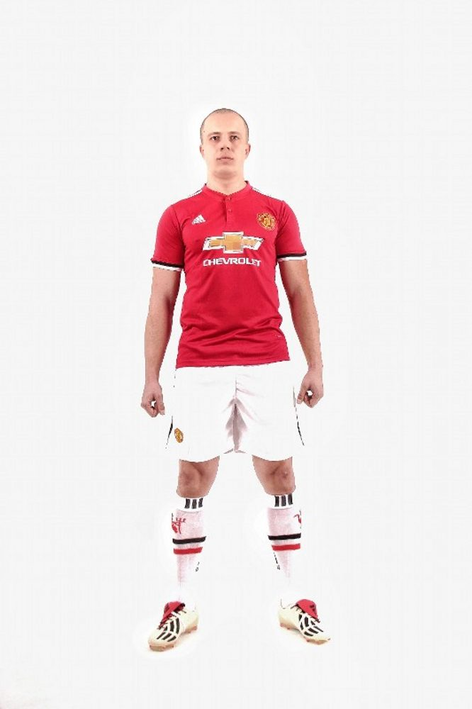 Manchester United 2017/2018 Home Kits/форма домашняя